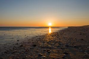 B_ott_011 Strand bei Sonnenuntergang